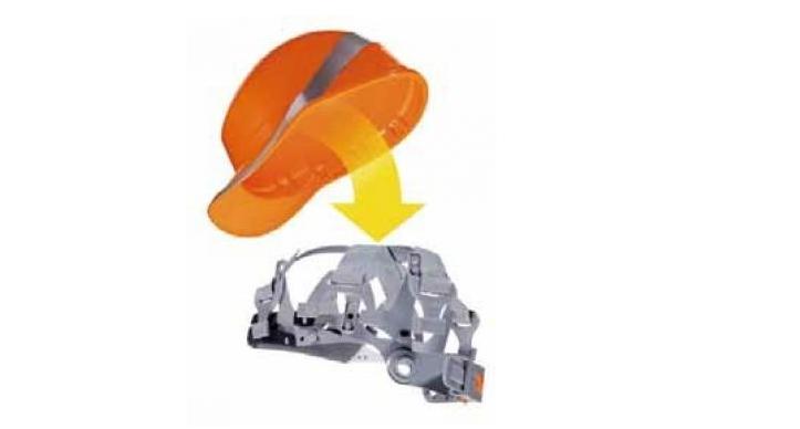 代尔塔 Deltaplus 安全帽衬里(HARNESS V)