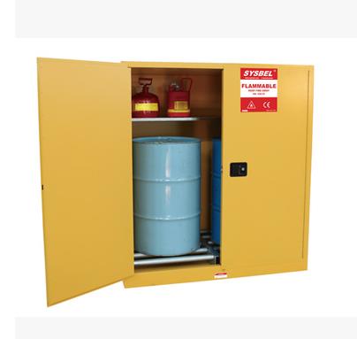 西斯贝尔 Sysbel 易燃液体安全储存柜(油桶型)