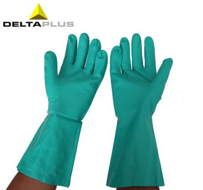 代尔塔 Deltaplus 中型丁晴手套(VE802)