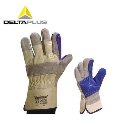 代尔塔 Deltaplus 双层牛皮手套(DS202)