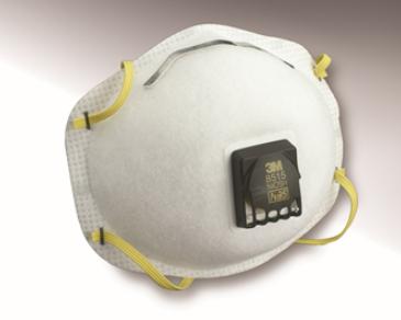 3M 8515 N95头戴式带呼吸阀焊接用防尘口罩