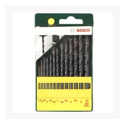 博世 Bosch 13支HSSR麻花钻头套装