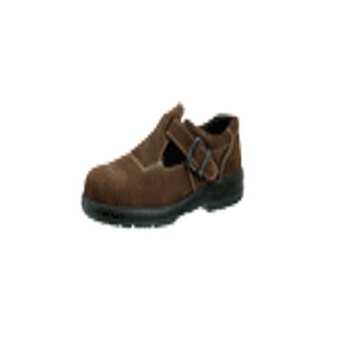 羿科 Aegle 防水棕色皮低帮安全凉鞋(带钢头,带钢板)