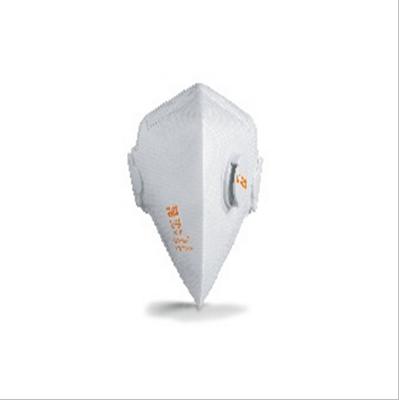 8733210折叠式带呼吸阀防尘口罩