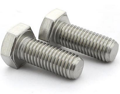 304不锈钢外六角螺栓DIN933