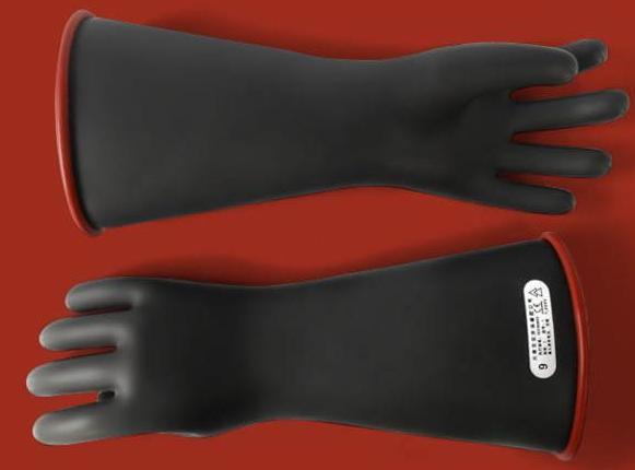 双安 双安4级14寸乳胶带电作业用绝缘手套