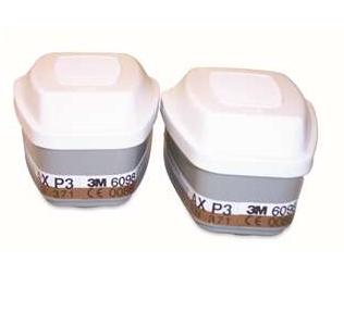 3M 6098 低沸点有机蒸气滤毒盒及P3 颗粒物滤棉