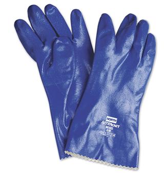 霍尼韦尔 Honeywell NK803-8带衬丁腈防化手套