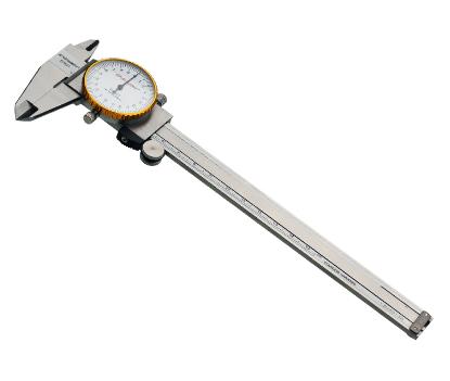 力易得 Endura 不锈钢带表游标卡尺150mm
