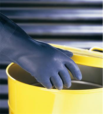 霍尼韦尔 Honeywell 霍尼韦尔 2095025-8氯丁橡胶防化手套