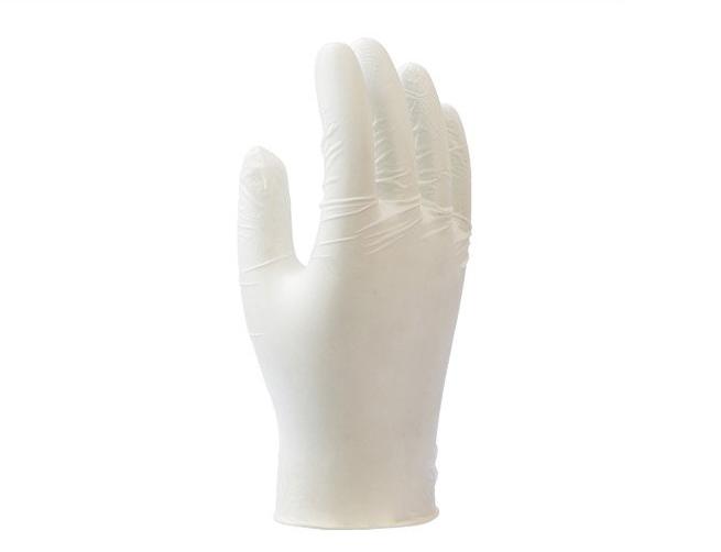 代尔塔 Deltaplus 一次性带粉乳胶手套(V1310)