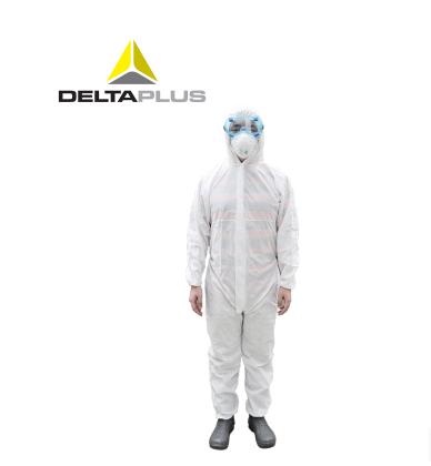 代尔塔 Deltaplus 透气防静电5/6级防化服(DT221)