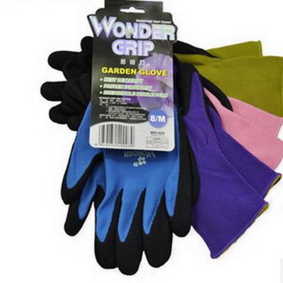 多给力 WonderGrip FLEX 通用丁腈磨砂作业手套