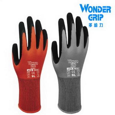 多给力 WonderGrip COMFOR T通用乳胶磨砂作业手套