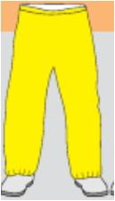 微护佳 Microgard MC3000黄色裤子
