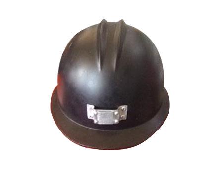 双安 矿工帽 红色