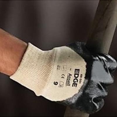 安思尔 Ansell 经济款3/4浸丁腈橡胶涂层耐油耐磨手套,罗纹袖口