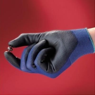 安思尔 Ansell 掌部黑色PU涂层通用类手套