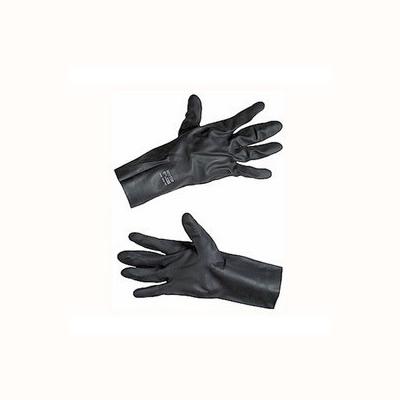 安思尔 Ansell 无内衬,黑色氯丁橡胶防护手套,0.75mm厚29-500-8