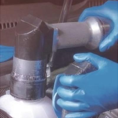 安思尔 Ansell 蓝色半一次性丁腈橡胶手套