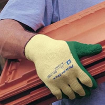 安思尔 Ansell 无缝聚酯和棉混编衬里,掌部涂天然橡胶