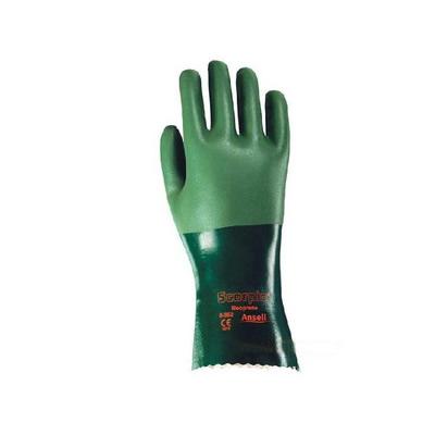 安思尔 Ansell 氯丁橡胶涂层内加结识的棉织衬垫手套 8-354-8