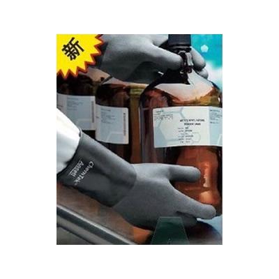 安思尔 Ansell 0.36mm厚,36cm长,粗糙表面丁基手套