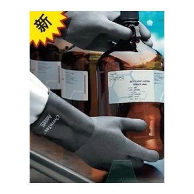 安思尔 Ansell 0.3mm厚,30cm长,光滑表面丁基/氟橡胶合成手套