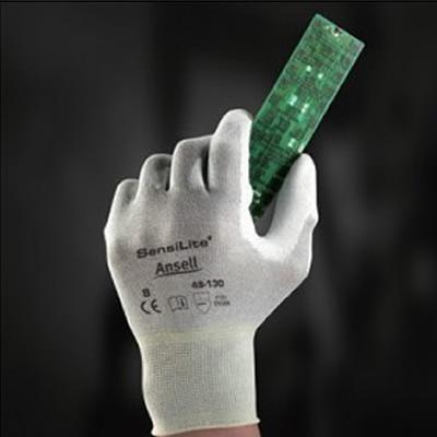 安思尔 Ansell 防静电尼龙纤维,聚氨酯掌部涂层,灰白色