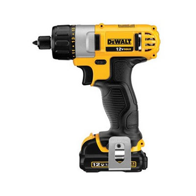 得伟 Dewalt 14.4V锂电充电式冲击起子 2电池套装 DCF835C2-A9