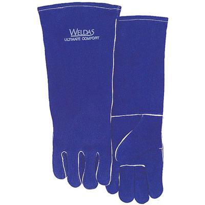 Spc Spc 常规烧焊手套彩蓝色斜拇指款, 特大码,货号:10-0160,尺码:XXL