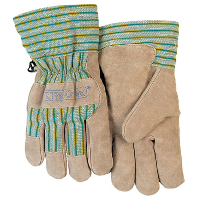 Spc Spc 保暖柔牛二层芯皮掌抗冻劳保手套,货号:10-2255,尺码:L-XL