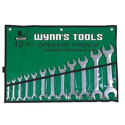 威力狮 Wynns 套装欧式开口扳手(铬钒钢)