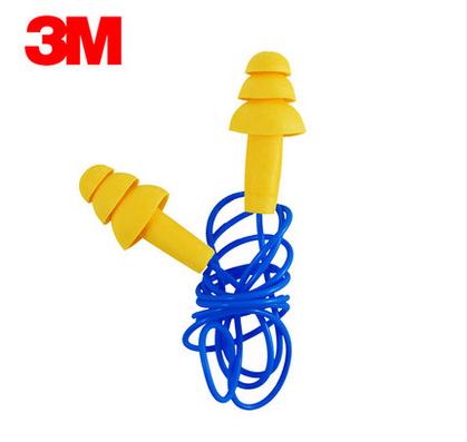 3M 圣诞树型带线耳塞