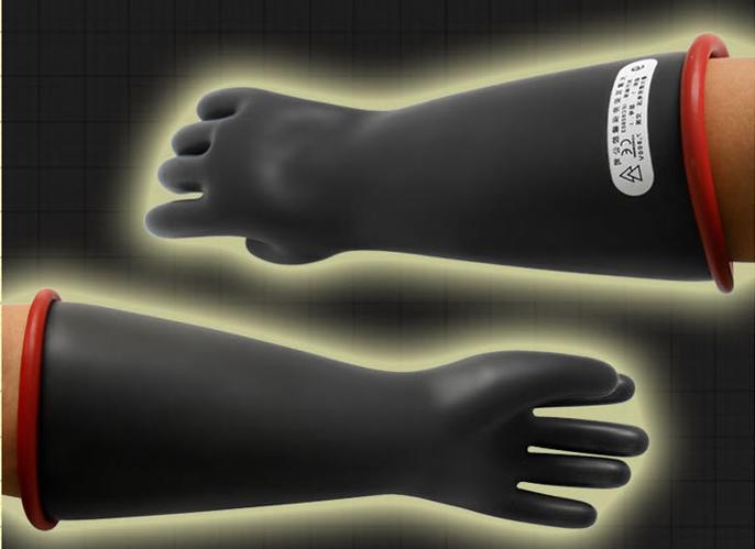 双安 双安1级14寸乳胶带电作业用绝缘手套