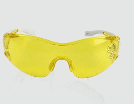 代尔塔 Deltaplus 时尚型安全眼镜黄色增亮(EGON YELLOW)101127