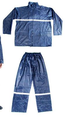 代尔塔 Deltaplus 反光条雨衣(EN400RE)