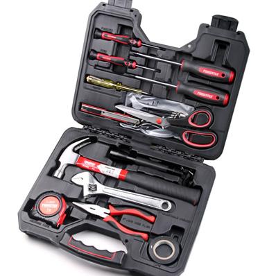 福吉斯特 forgestar 福吉斯特 23件工具套装 家用工具组合螺丝刀扳手五金工具箱套装