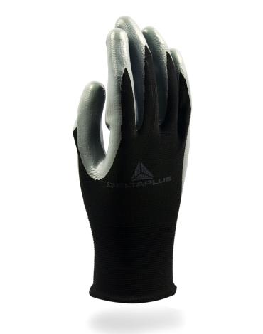 代尔塔 Deltaplus 丁腈精细半涂层操作手套(VE712GR)