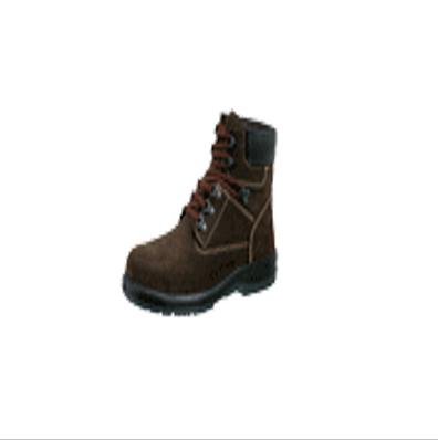羿科 Aegle 防水棕色皮中帮安全鞋(带钢头,带钢板)