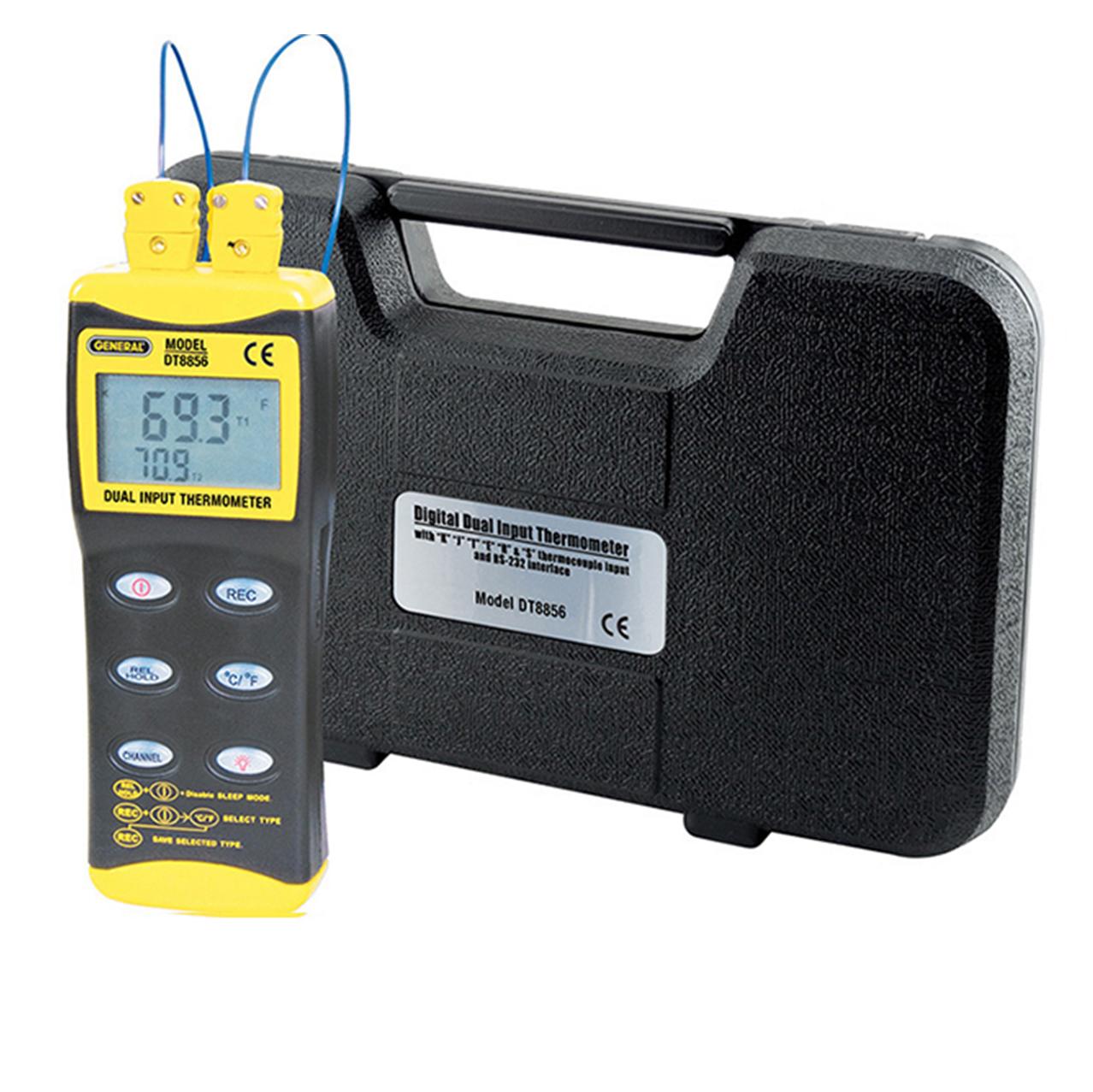 精耐仪器 双通道热电偶温度测量仪