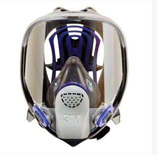 3M FF-402 硅胶全面型防护面罩