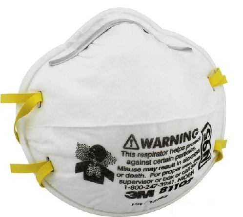 3M 3M 8110S 头戴式防颗粒物防尘口罩