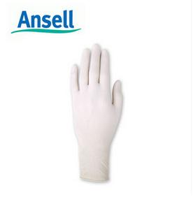 安思尔 Ansell 无粉一次性无尘橡胶手套