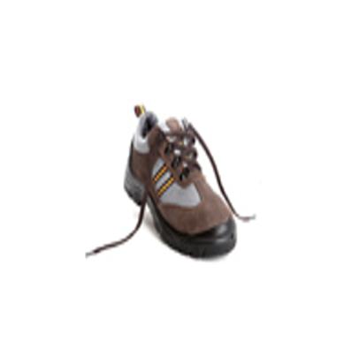 羿科 Aegle 棕色轻透低帮运动款安全鞋(带钢头,防静电) SP300BX-A