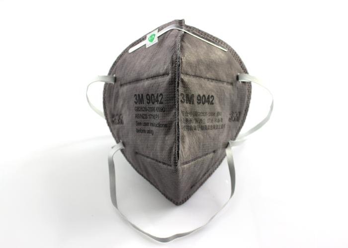 3M 3M 9042 KN90有机蒸气异味及防颗粒物活性炭防尘口罩